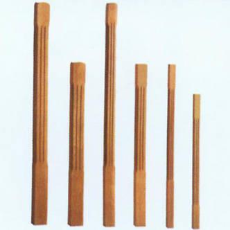 南京红灯木楼梯-柱子扶手21