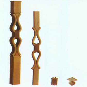 南京红灯木楼梯-柱子扶手23