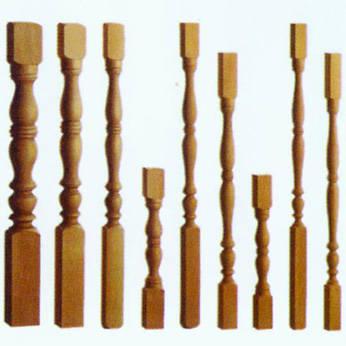 南京红灯木楼梯-柱子扶手28