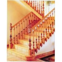南京红灯木楼梯-U型木楼梯4