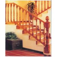 南京红灯木楼梯-U型形木楼梯5
