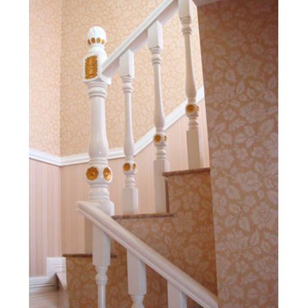 南京红灯木楼梯-木楼梯扶手-装修实景图8图片