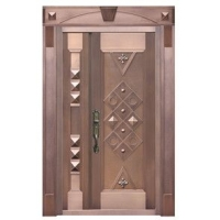 雅帝工艺铜门-经典方圆
