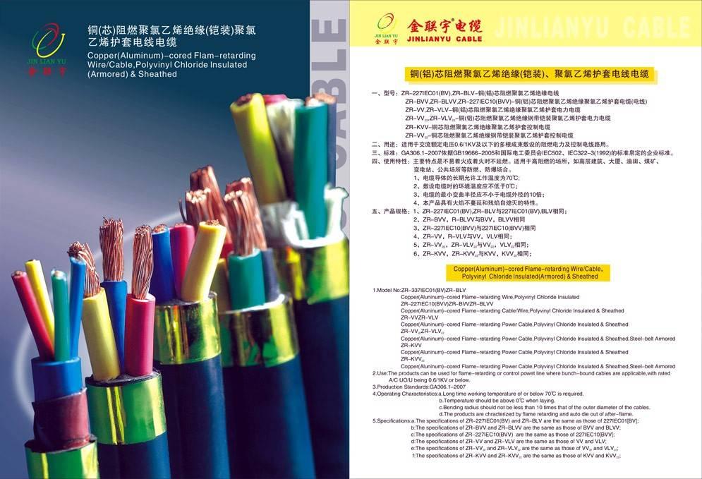 铜芯PVC护套软电缆