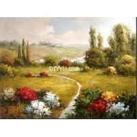 客厅餐厅油画、别墅房间配画、婚纱肖像画、油画装饰画批发