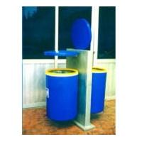 美新玻璃钢-玻钢垃圾桶