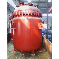 供应减水剂搪瓷反应釜/电加热搪瓷反应釜