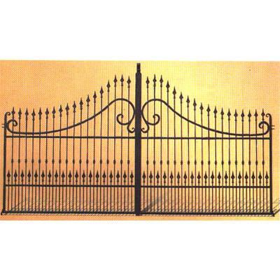 南京联润铁艺装饰工程公司-大门系列-锻钢大门-DD069