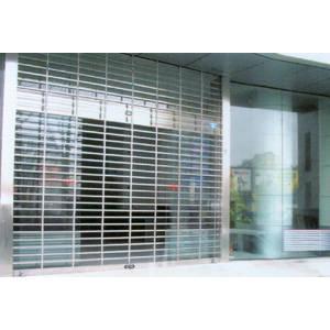 南京联润铁艺装饰工程公司-大门系列-不锈钢门窗