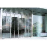 南京联润铁艺装饰工程公司-大门系列-不锈钢门窗-不锈钢方管卷帘�