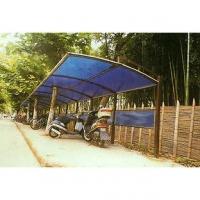 南京联润铁艺装饰工程公司-钢结构阳光板车棚