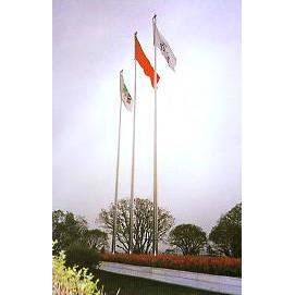 南京不锈钢锥形18mm旗杆 南京联润铁艺装饰工程公司
