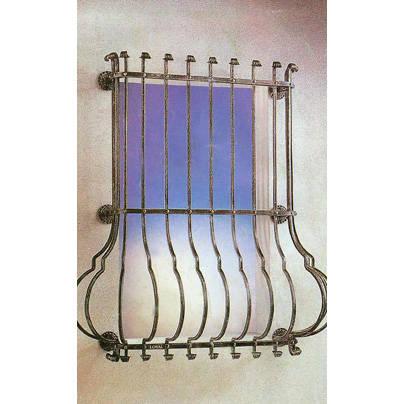 南京联润铁艺不锈钢装饰-防盗窗系列-锻钢防盗窗-SDW022