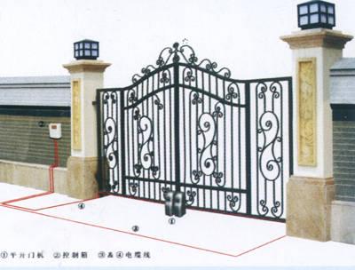 南京智能遥控平开门机