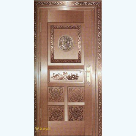 南京联润铜艺装饰-艺术铜门系列-平安狮子