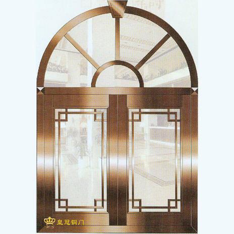 南京联润铜艺装饰-艺术铜门系列-铜窗