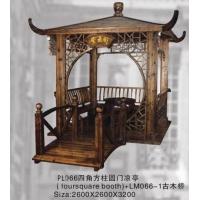 东阳木雕—茶亭01