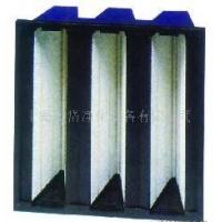 V型组合密褶式过滤器