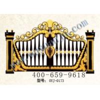佛山欧园居门业供应花园大门铸铝门