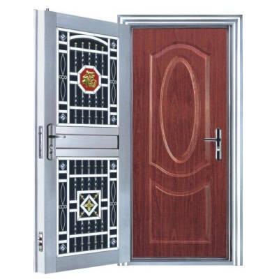 防盗门-钢塑欧式套装门