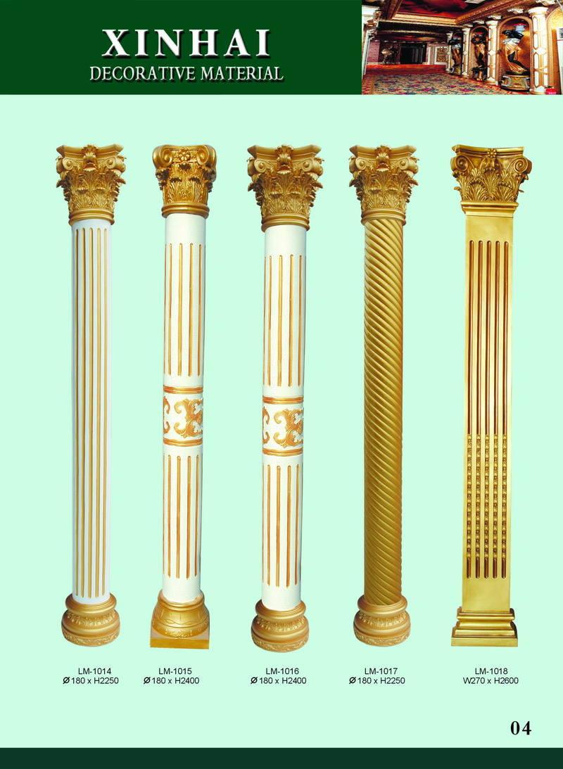 欧式柱子效果图