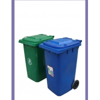 20L塑料果皮箱室内垃圾桶