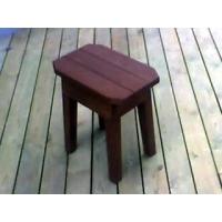 防腐木休闲椅