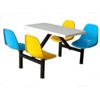 厂家批发食堂餐桌 快餐桌椅