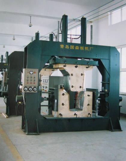 人造板机械设备高频弯曲木压机