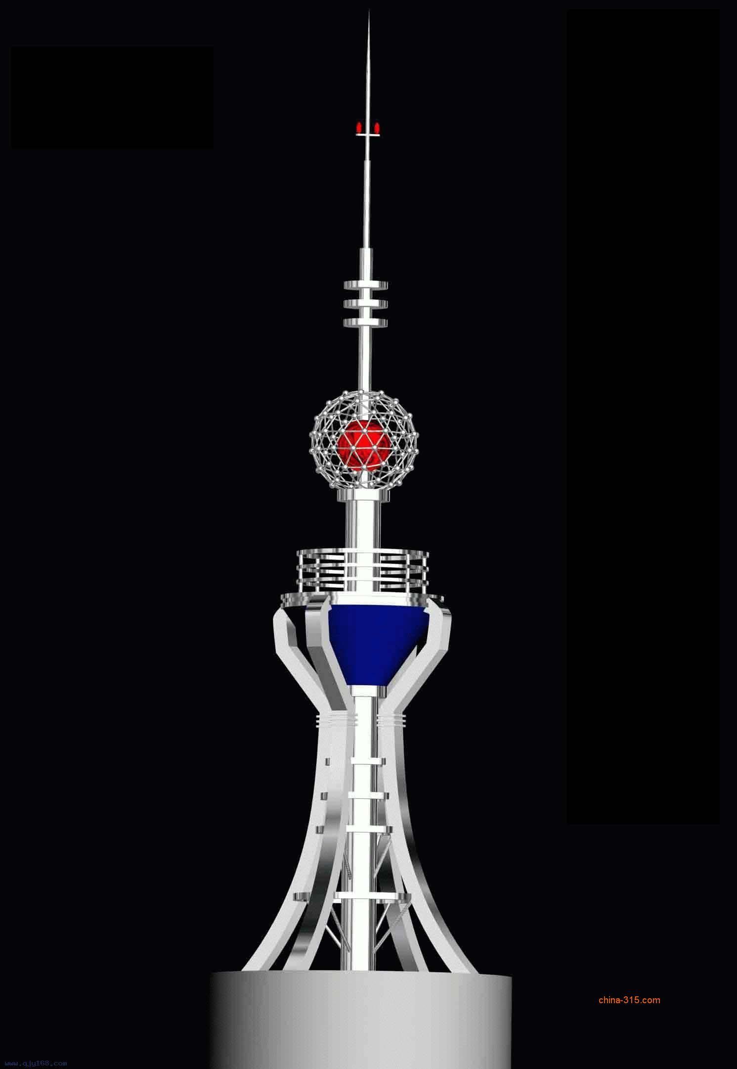 不锈钢工艺塔/避雷装饰塔/装饰工艺塔