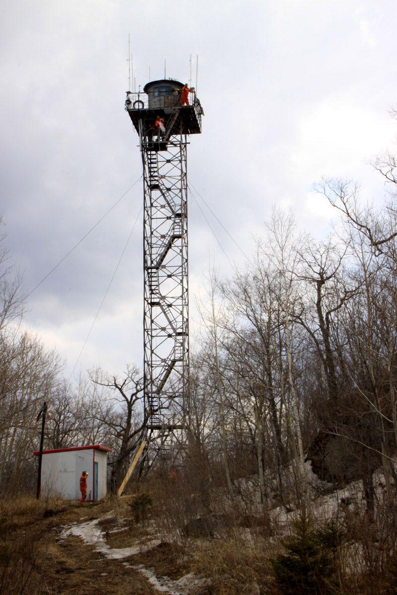 林业局专用森林防火了望塔
