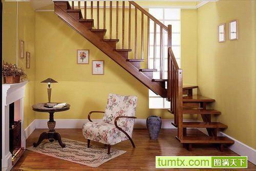 城阳实木楼梯青岛楼梯玻璃楼梯实木楼梯钢结构吊铺消防楼梯