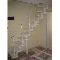 城阳钢木楼梯青岛楼梯钢木楼梯钢结构吊铺实木楼梯