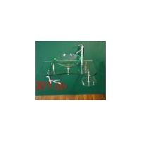 钢化玻璃台盆