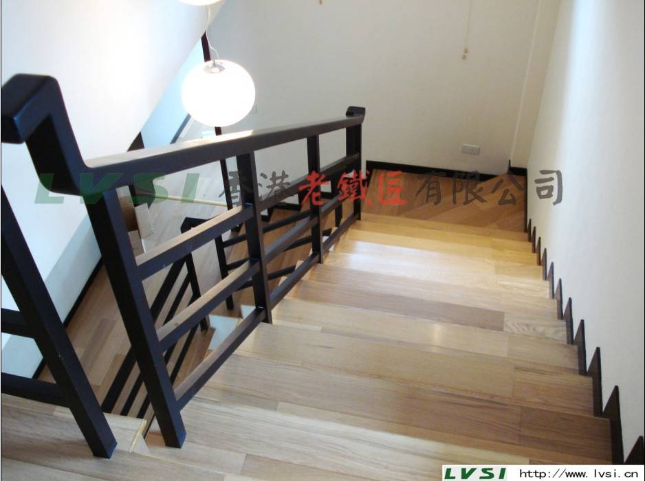 香港老铁匠楼梯(九龙中式木梯)