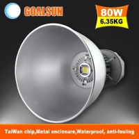 新款普瑞芯片高品质厂房仓库照明专用LED工矿灯80W