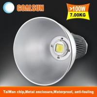 高品质明伟电源普瑞芯片厂房工程专用LED工矿灯120W