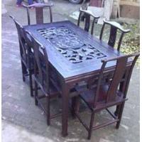 老榆木仿古餐桌