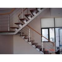 帝达楼梯-钢木楼梯-单龙骨楼梯