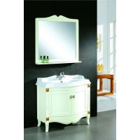 中国卫浴洁具十大畅销品牌-阿里斯顿橡木浴室柜
