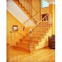 有机玻璃水晶楼梯扶手和水晶立柱
