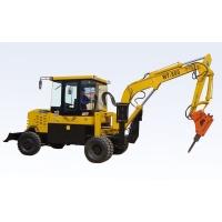 挖掘机|轮式挖掘机|全工WT-800轮式挖掘机