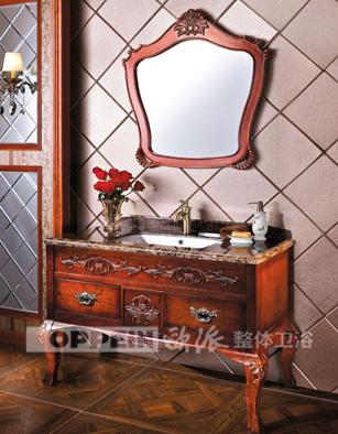 成都  欧派浴室柜-北欧风情