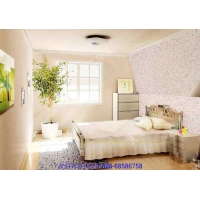 液体墙纸卧室装修效果图