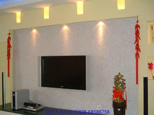 墙衣液体壁纸电视背景墙