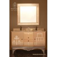 罗浮宫不锈钢艺术浴柜