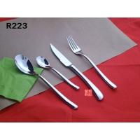 R223 BUDDHA纯钢无磁刀叉勺 不锈钢餐具 礼品刀叉