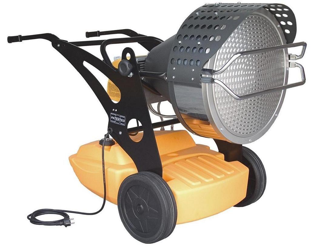 钢结构烤漆使用的燃油取暖器