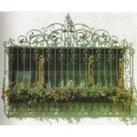 铁艺窗花,铁艺阳台栏杆