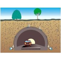 HDPE防排水板用于隧道